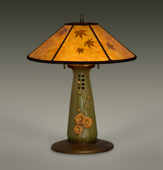 Craftsman Style Table Lamps Mica Lamp Shades